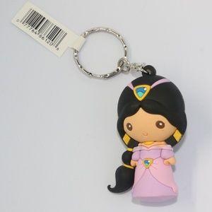 Disney Princess Jasmine 3D Figural Keyring